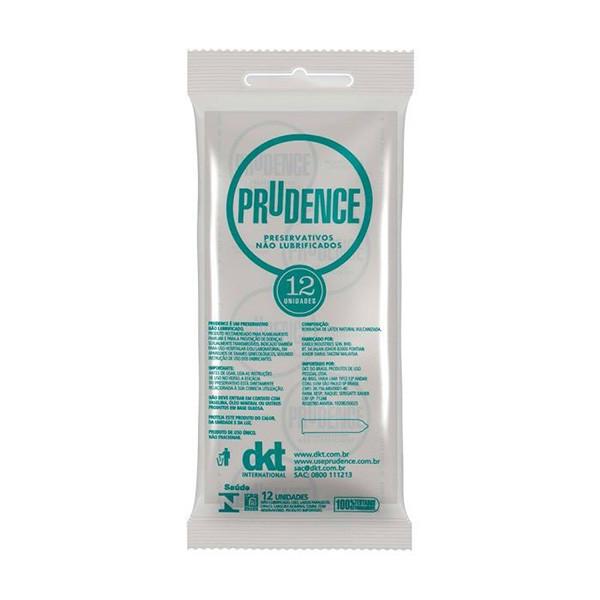 Preservativo Prudence Não Lubrificados Com 12 Unidades