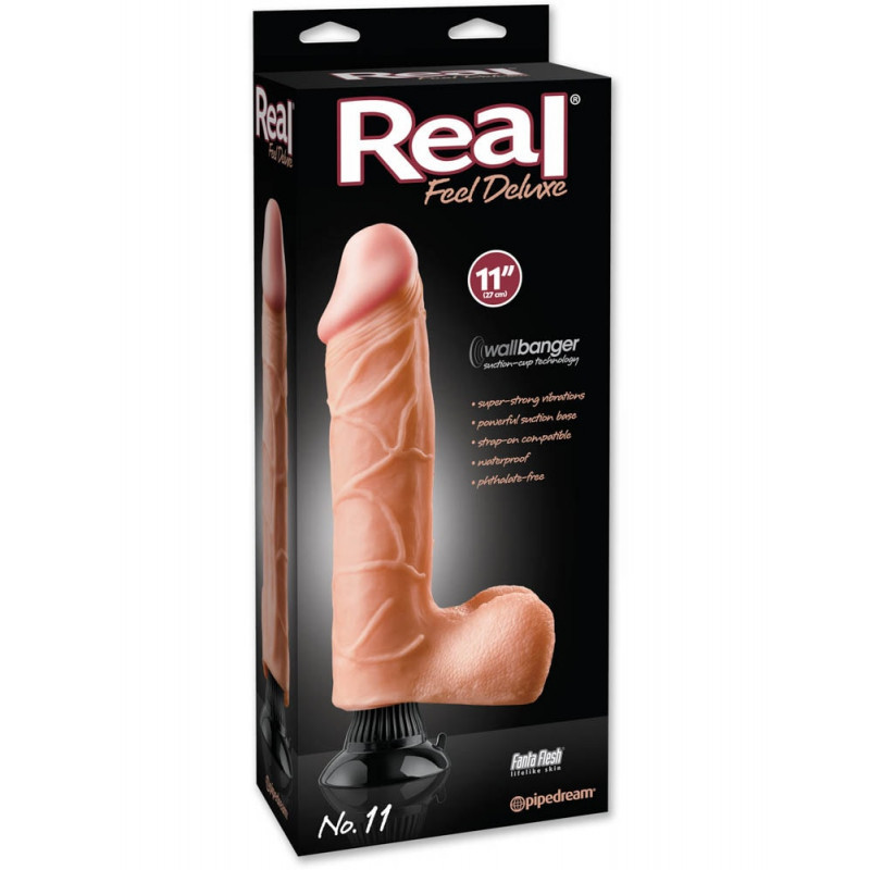 Pênis Real Feel Deluxe 11 Flesh - 5999