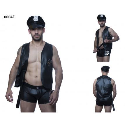 Fantasia Policial Masculino 6232
