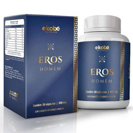 Eros Homem - Estimulante Sexual Masculino - 30 Cápsulas
