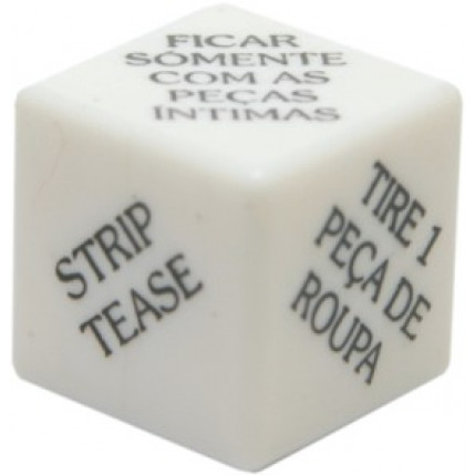 Dado Strip Tease - 1 unidade