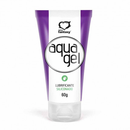 Aquagel Gel Lubrificante Siliconado 60g Sexy Fantasy - 1494