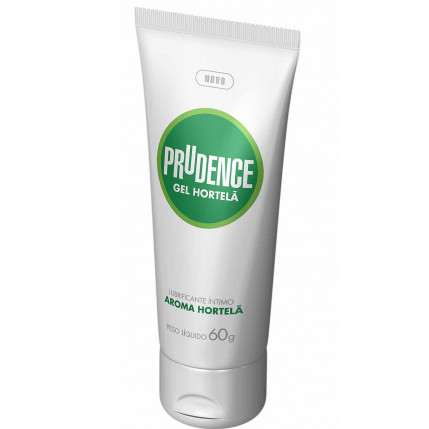 Gel Lubrificante Prudence - Aroma Hortelã - 60g