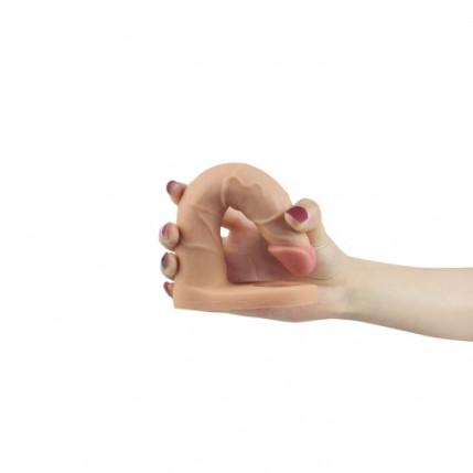 Anel Companheiro com com Veias e Glande Pequena e 10 Modos de Vibração - THE ULTRA SOFT DUDE LOVETOY - AN052