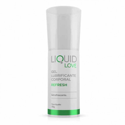 Liquid Love - Refresh - Gel Lubrificante Corporal