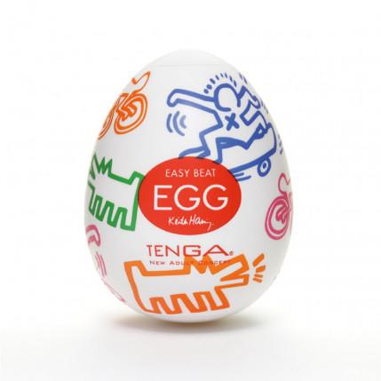 Masturbador Tenga Egg - Keith harding Egg Street - NOVO MODELO