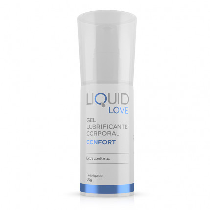 Liquid Love - Confort - Gel Lubrificante Corporal