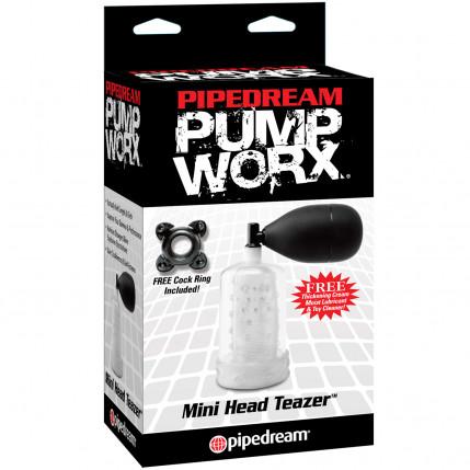 Bomba Peniana Manual Mini Head Teazer Coleção Pump Worx