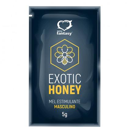 Exotic Honey Mel Estimulante Masculino Sachê 5g Sexy Fantasy