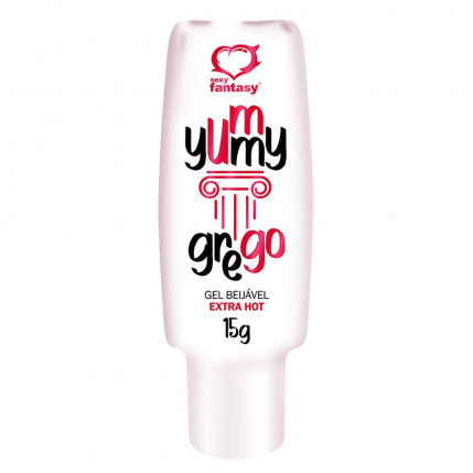 Yummy Grego Gel Beijável Extra Hot 15g Sexy Fantasy