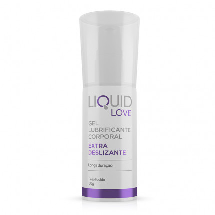 Liquid Love - Extra Deslizante - Gel Lubrificante Corporal