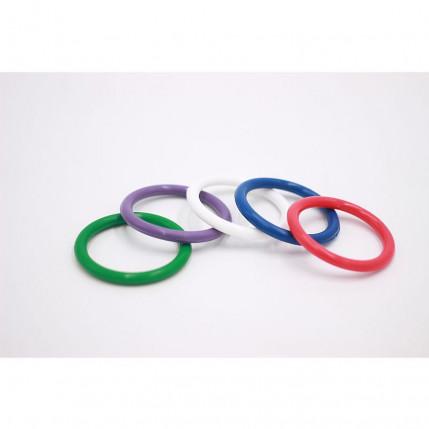 Kit com 5 Anéis Penianos de Borracha - Coloridos - Lovetoy