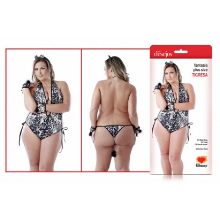 Fantasia Plus Size - Tigresa