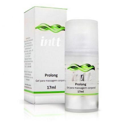 Gel para Massagem Masculino Intt Prolong - Prazer Prolongado - 17 ml