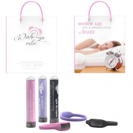 Vibrador Feminino com Despertador Wake-up Vibe - Grátis: Um Relógio