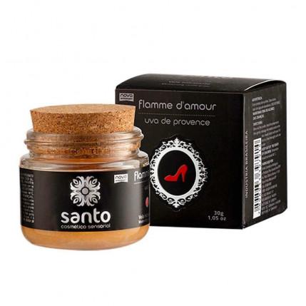 Flamme D'amour Vela Aromática Uva Provence Linha Sado 30g Santo Sexo - 3076