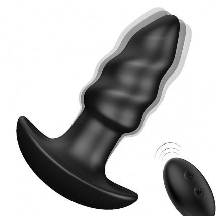 Plug Anal com Vibro Recarregável - com Controle Remoto - LOVEARROW - S-Hande - 3342