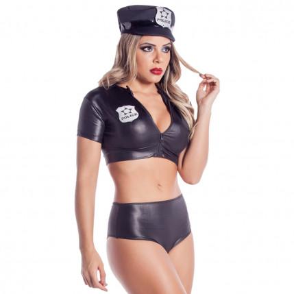 Fantasia Policial Sharon - 384