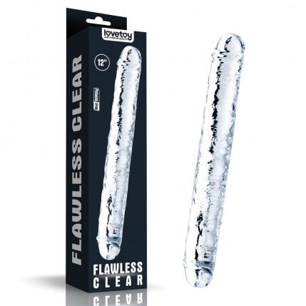 Pênis Realistico Duplo feito em Jelly TPE - 3916