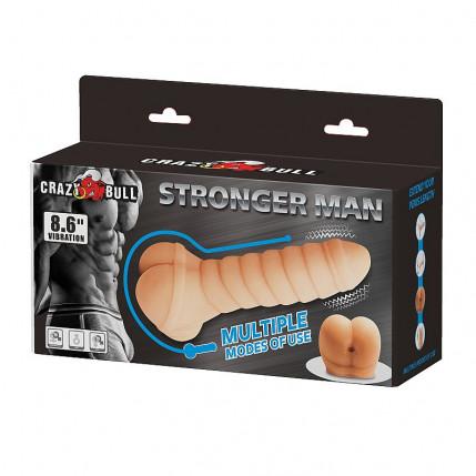 Masturbador Masculino- Stronger Man - Crazy Bull 4008