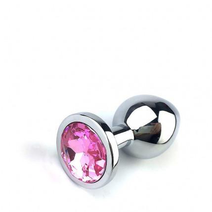 Plug Anal Metal Pedra - QQ1042 - Tamanho M - 4268