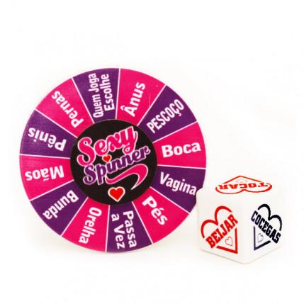 Jogo de Dado Sexy Spinner com Disco - 4675