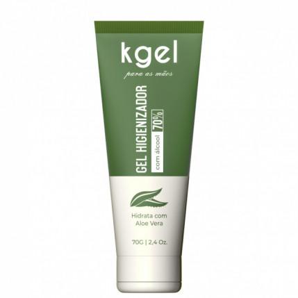 Gel Higienizador para as Mãos (ÁLCOOL GEL 70%) - 70 ml
