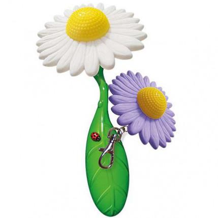 SUPER FLOWER POWER - 2 Vibradores em formato de Flores sendo 1 chaveiro