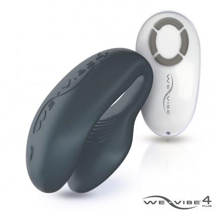 Vibrador para Casal We-Vibe IV Plus - O Mais Vendido do Mundo- Cinza