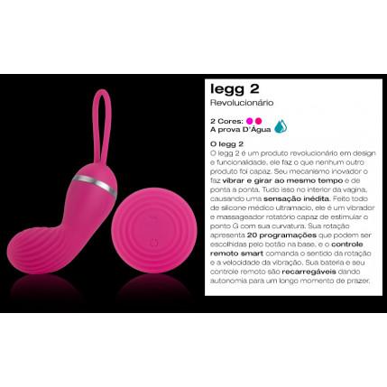 Vibrador Recarregável Ieeg 2 - IGOX - SILICONE - LILÁS - 20 modos de vibração
