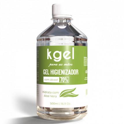 Gel Higienizador para as Mãos (ÁLCOOL GEL 70%) - 500ml
