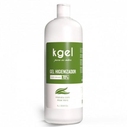 Gel Higienizador para as Mãos (ÁLCOOL GEL 70%) - 1 litro