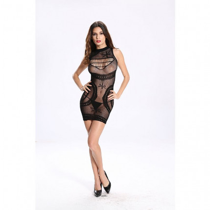 Bodystocking - Vestido Rendado - 3634
