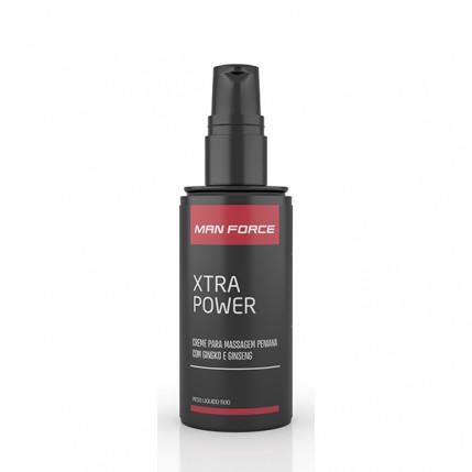 Creme Massagem Peniana Man FORCE - Xtra Power - 50g