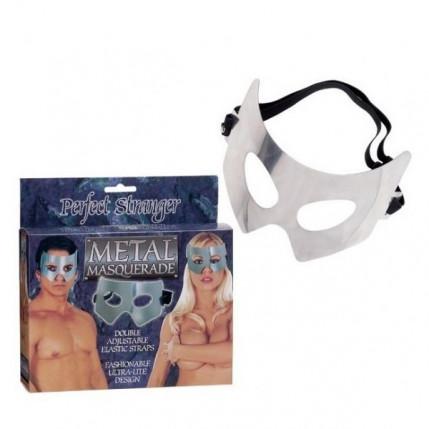 Máscara erótica feito de alumínio com alça elástica 6907