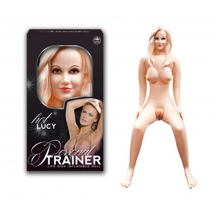 Boneca Hot Lucy - Mãos, Pés e Seios Em Pvc, Vagina e Anus Em Cyber Skin - 7079