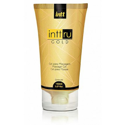 Gel Massagem Intt Ru Gold 150 ml