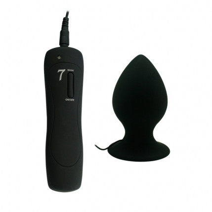 Plug Anal com Ventosa - APHRODISIA XL ANAL PLUG - PL029M