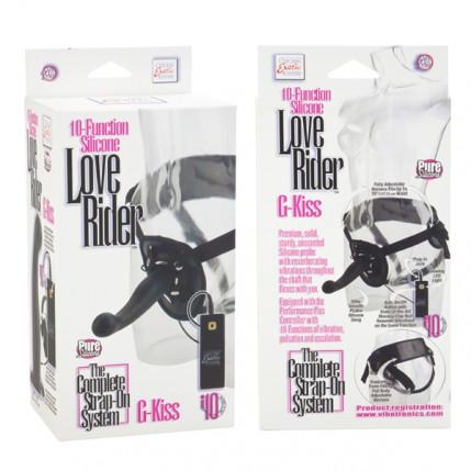 Cinta Pênis Silicone Love Rider G-Kiss 10 Funções - SE1498-15