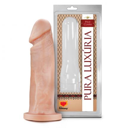 Prótese Pura Luxúria Realistico Maciço 17,5 x 4,4 Cm Sexy Fantasy - 5065