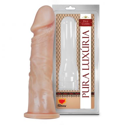 Prótese Pura Luxúria Realistico Maciço 18,5 x 4,2 Cm Sexy Fantasy - 5066