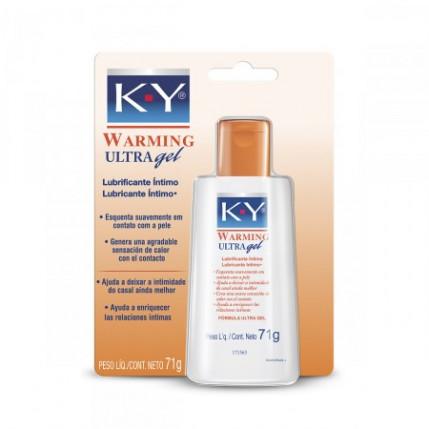 Lubrificante KY Warming 71 grs. (Aquece)